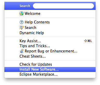 Install WOLips with Eclipse Update Manager - WOProject